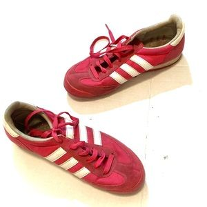 ADIDAS Dragon red shoes. 7.5.